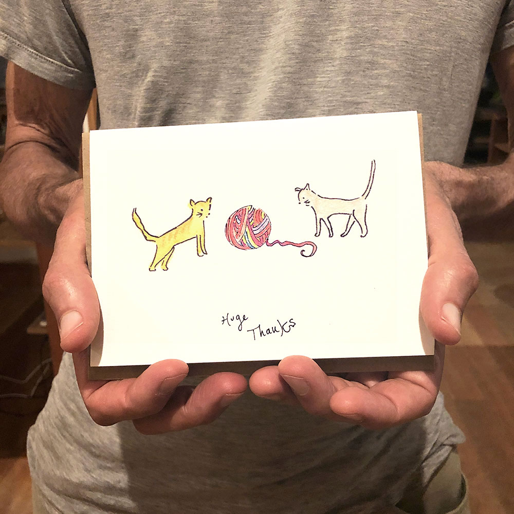 thank you cards for pets